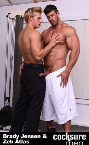 Cocksuremen  - Zeb Atlas and Brady Jensen