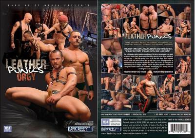 Dark Alley Media Leather Punks Orgy