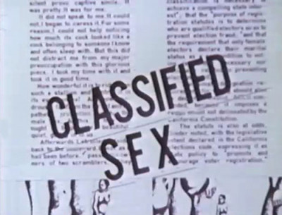 Classified Sex (1975)
