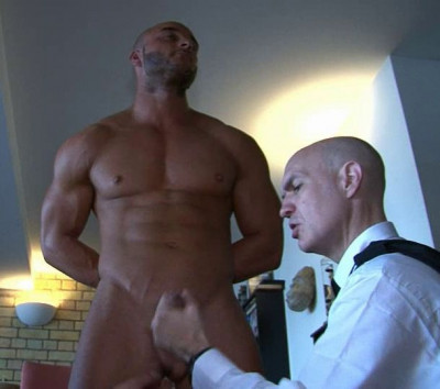 Clothed Male Naked Male - The Debt Collectors