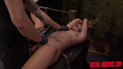 Marina Angel Earns A Facial After Rope Bondage, Deepthroat BJ, Rough Sex, Squirting (2015)