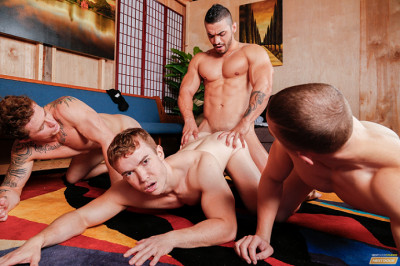 Dante Martin, Gabriel Cross, Markie More and Arad