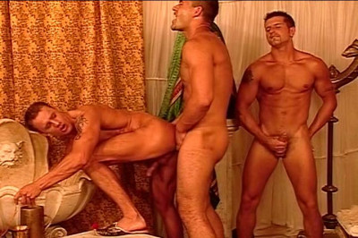 Gay Guys Fuck One Another In A Hot Orgy