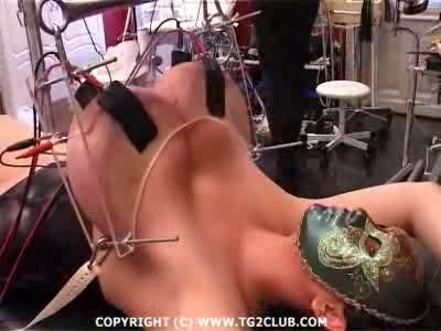 Lola When She Experienced Some Electro-tit Torture