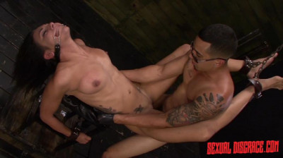 SexualDisgrace Isa Mendez Earns a Facial after Bondage Slave Training Session