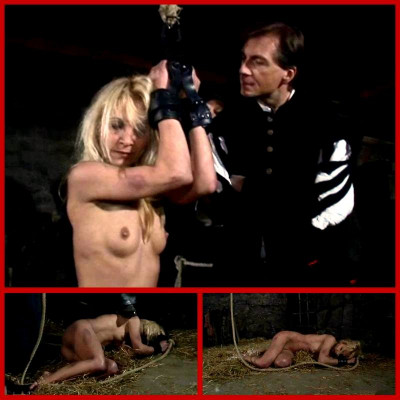 Witch Romina Endures Rope Suspension Part 1 - BrutalDungeon