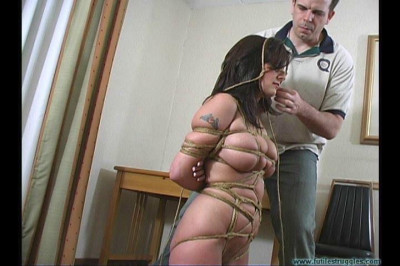 CEO Calls for Bondage Lola Lynn Nude and Balltied 1part - BDSM, Humiliation, Torture HD 720p