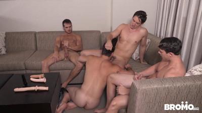 Aspen, Addison Graham, Evan Marco and Tobias - Str8 Bitch