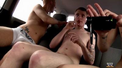Inked Slut Gets A Hard Fuck (Reece Bentley, Deacon Hunter, Drenon Silversheen)