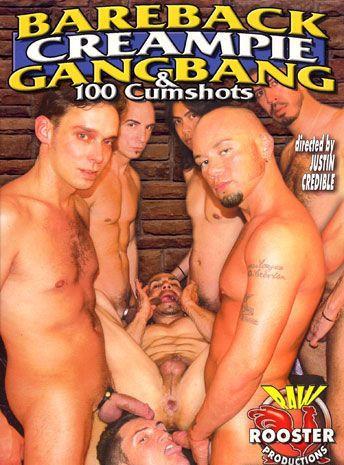 Bareback Creampie Gang Bang