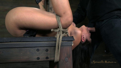 SB - Hot Latina is overloaded with cock, orgasms, and bondage - HD