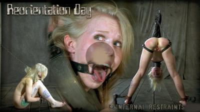 Infernalrestraints - Feb 15, 2013 - Reorientation Day - Sarah Jane Ceylon - Cyd Black