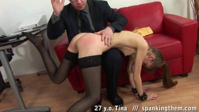 Secretary spanking.