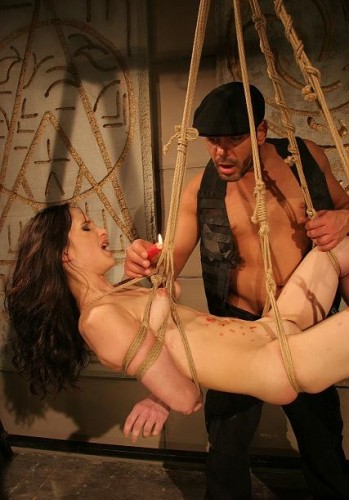 Aleksandra in the dungeon