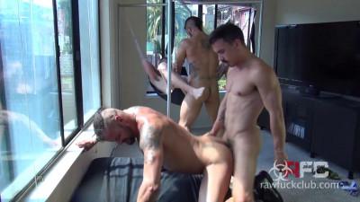 Folsom Fucking Four Part Two Derrick Hanson Aarin Asker Adam Avery Billy Warren (2015)