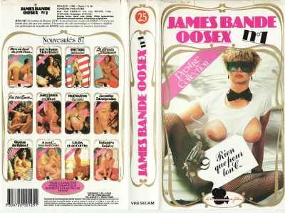 James Bande 00sex n°1 (1981)