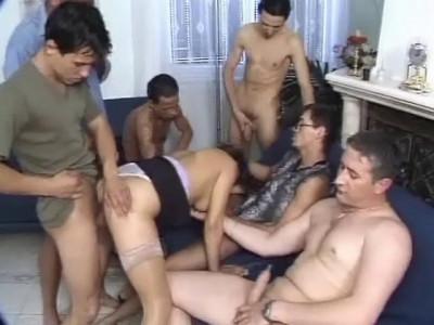 200 percent gangbang, scene 4