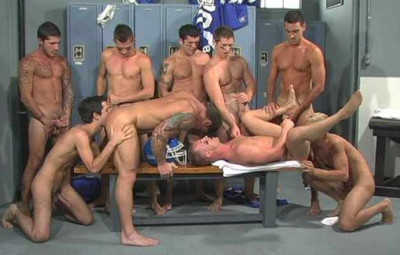 Gang Bang With Brutal Football Team