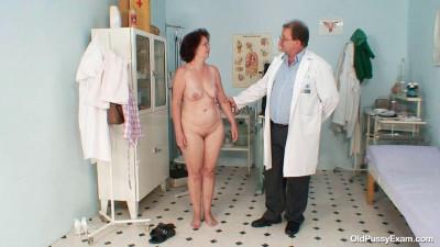 Ivana - 52 years woman gyno exam