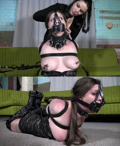 Tight Bondage, Torture And Hogtie For Beautiful Bitch