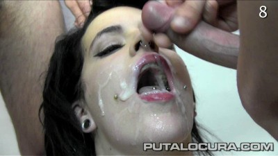 The Busty 32 Swallows Cum!