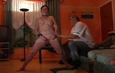 Sexy Brunette Slave Torment