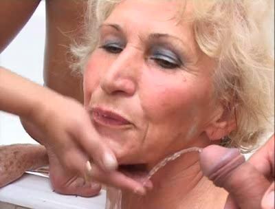 Oma Pervers # 8 - Peeing Rain
