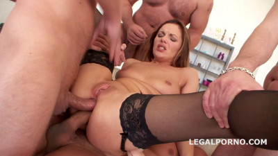 Facialized Dominica Phoenix gets Dped Daped Deepthroat Gapes Triple Penetration 2016)