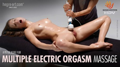 Hegre-Art — Gaby — Multiple Electric Orgasm Massage