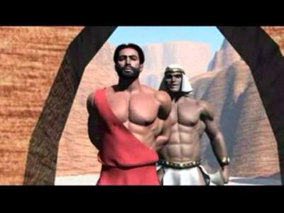 Tagame Desert Dungeon 3d Gay BDSM