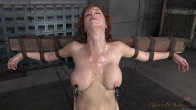 SexuallyBroken - Sep 15, 2014 - Stunning busty MILF Veronica Avluv does brutal drooling deepthroat