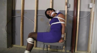 The girl wanted to be tied up and gagged