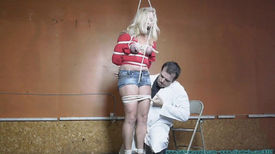 Dia Zerva is Dr. Cupcakes new Bondage Toy - Part 2