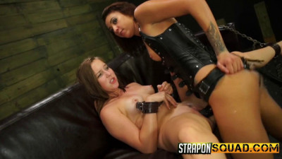 Esmi Lee, Charli Acacia - Esmi Lee Uses Charli Acacia for Multiple Orgasms in Lesbian Domination