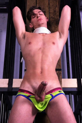 RopedStuds Aiden Ward part 10 - work, cum, bus