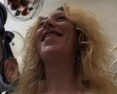 Busty blondie fucked in POV