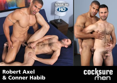 Robert Axel and Conner Habib