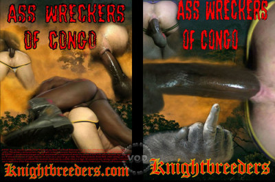 Bareback Ass Wreckers Of Congo - Damien Silver, Jordan Dominical