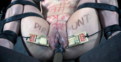 BDSM Slave in hot action