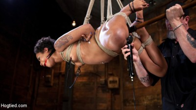 Skin Diamond is Tormented in Brutal Bondage and Made to Cum!!!
