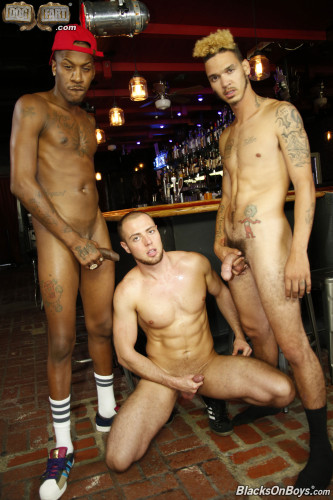 BlackOnBoys - Deep Dicc, Daddy Cream & Brendan Phillips