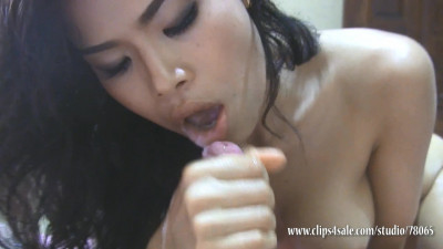 Japanese body massage part 2 - sensual blowjob