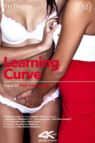 Bailey Ryder, Carolina Abril — Learning Curve Episode 1 - First Time Lesbian FullHD 1080p