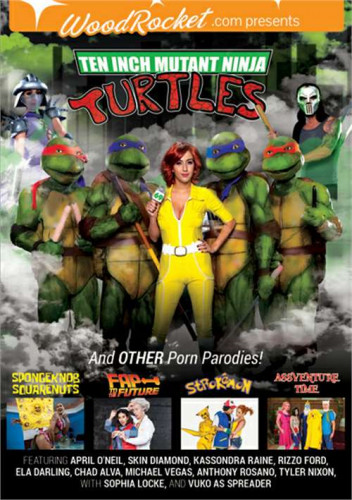 Ten Inch Mutant Ninja Turtles and Other Porn Parodies