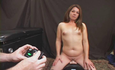 Vanessa come on g-patch Equitation the Sybian