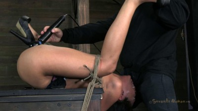 Sexually Broken - Hot Latina is overloaded with cock, orgasms, and bondage - Feb 25, 2013