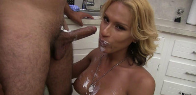 Jamie And Her Kitchen Slave Goody Fuck