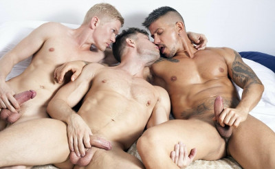 Vasily, Sergey and Goran — Threesome