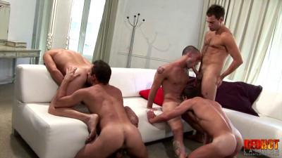 Club anal orgy!
