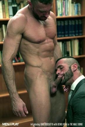 Gay men in suits!